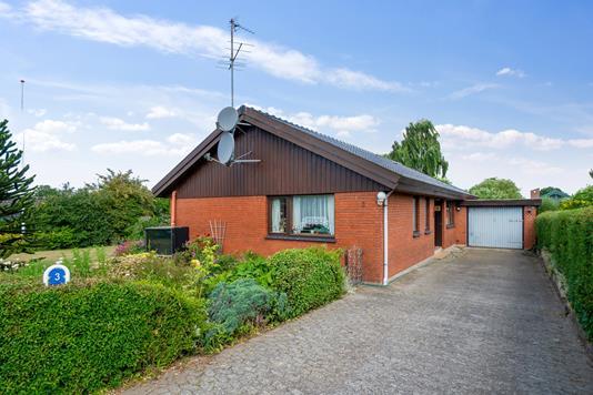 Villa på Glænøvej i Slagelse - Set fra vejen