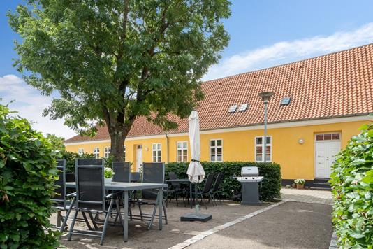 Ejerlejlighed på Slotsgade i Slagelse - Terrasse