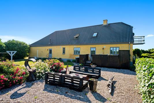 Villa på Fjordvej i Hørve - Terrasse