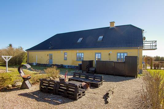 Villa på Fjordvej i Hørve - Ejendommen