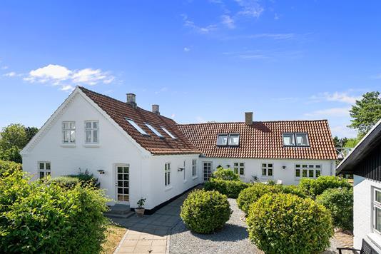 Villa på Ordrupvej i Fårevejle - Ejendommen
