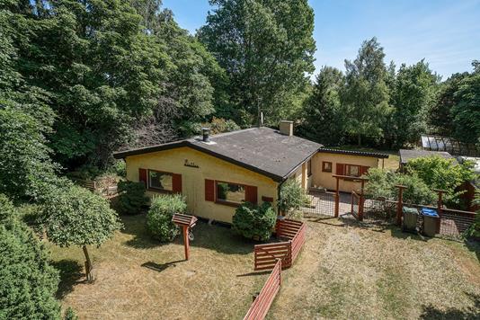Villa på Lyngvej i Vig - Set fra haven