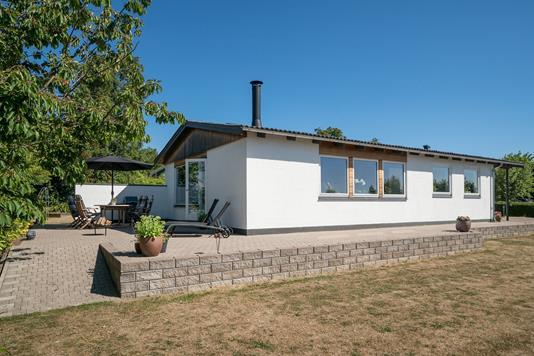 Villa på Stålhøjvej i Asnæs - Set fra haven