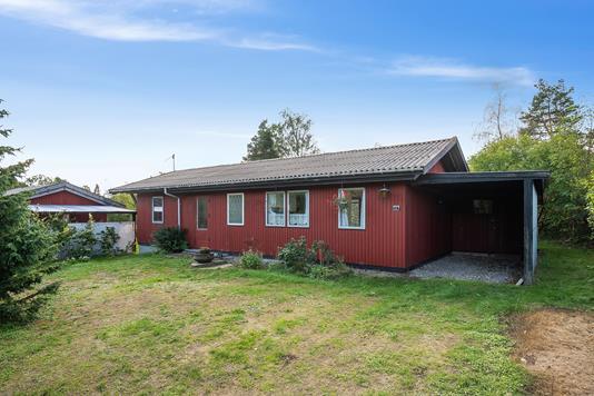 Fritidsbolig på Ellinge Nyvej i Vig - Set fra haven