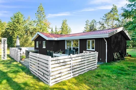 Fritidsbolig på Ruggårdsvej i Højby - Set fra haven