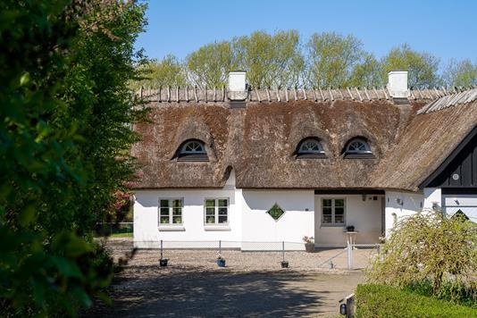 Villa på Rørmosevej i Hørve - Set fra vejen