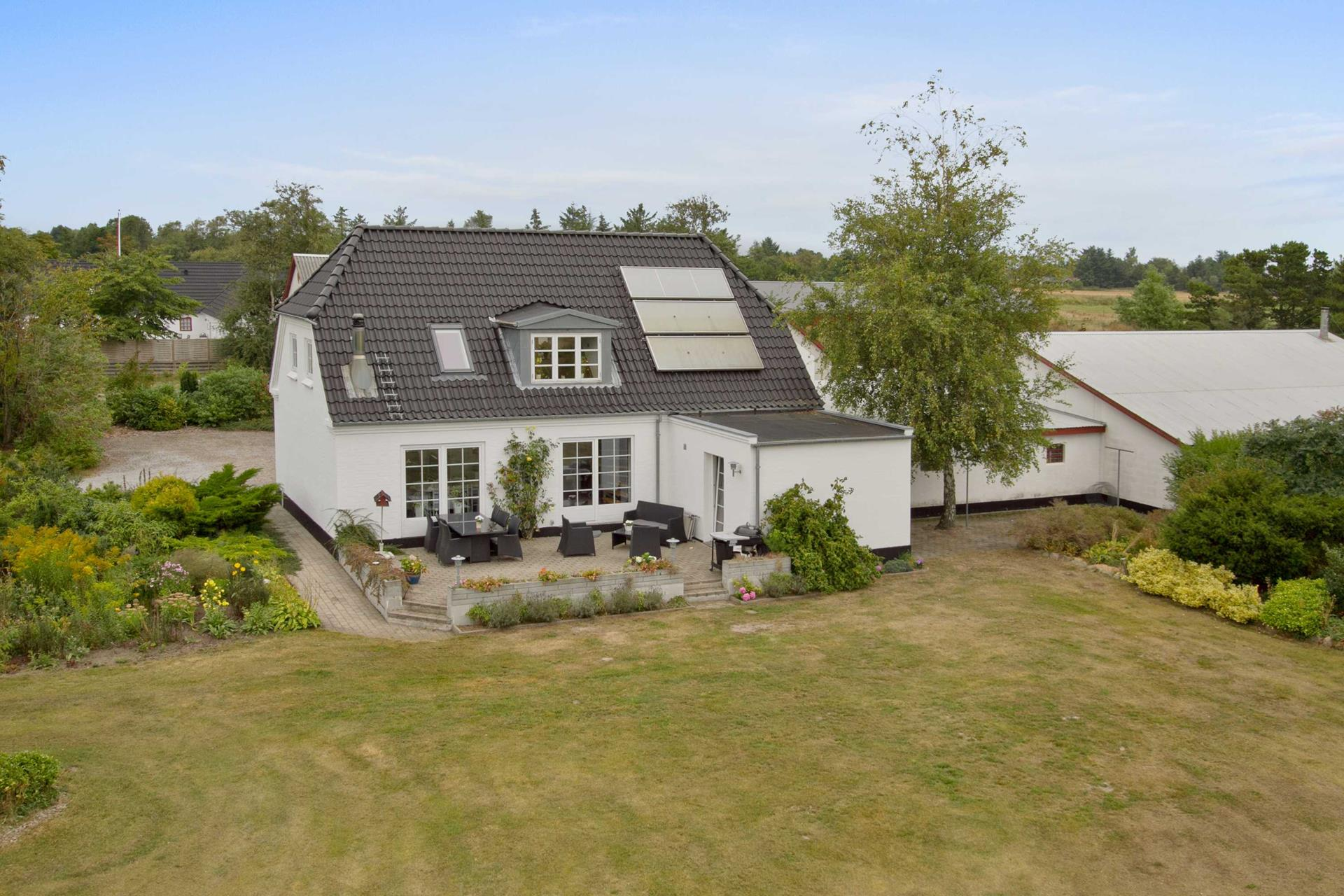 Landejendom på Sønderklitvej i Sæby - Udsigt