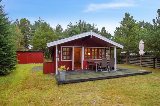 Fritidsbolig på Agnethesvej i Sæby - Set fra haven