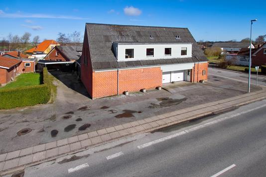 Villa på Ålborgvej i Sæby - Ejendommen