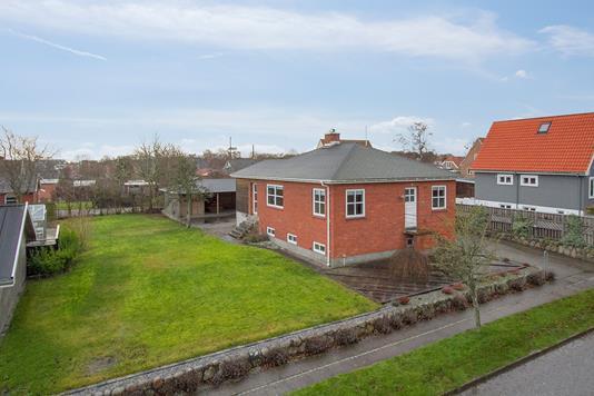 Villa på Kildevej i Sæby - Ejendommen
