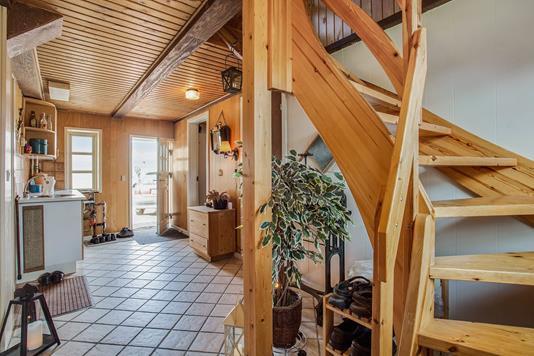 Villa på Vinkelvej i Sæby - Entré
