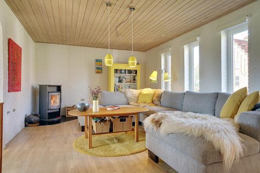 Villa på Skævevej i Dybvad - Stue