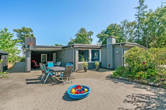 Villa på Baudersvej i Sæby - Terrasse