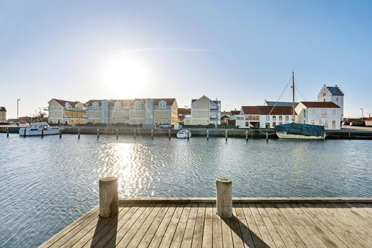 Ejerlejlighed på Havnepromenaden i Sæby - Område
