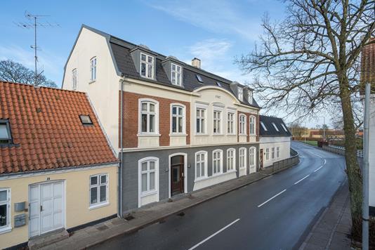Ejerlejlighed på Søndergade i Sæby - Ejendommen
