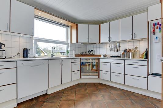 Villa på Godthåbsvej i Brønderslev - Køkken