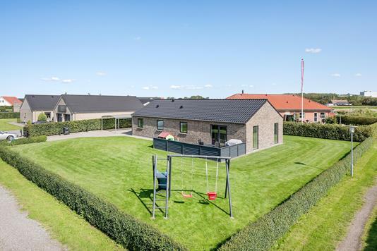 Villa på Gartnervænget i Vrå - Ejendommen