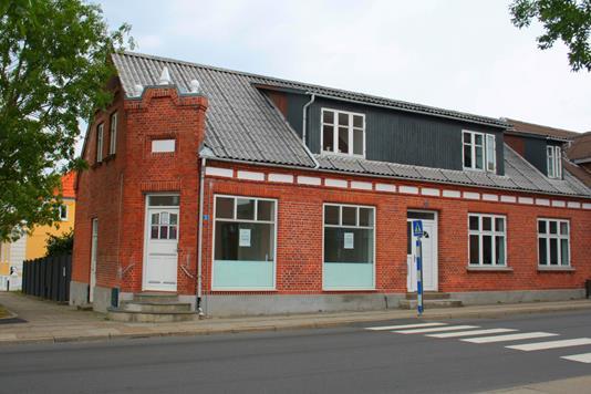 Villa på Gravensgade i Brønderslev - Facade
