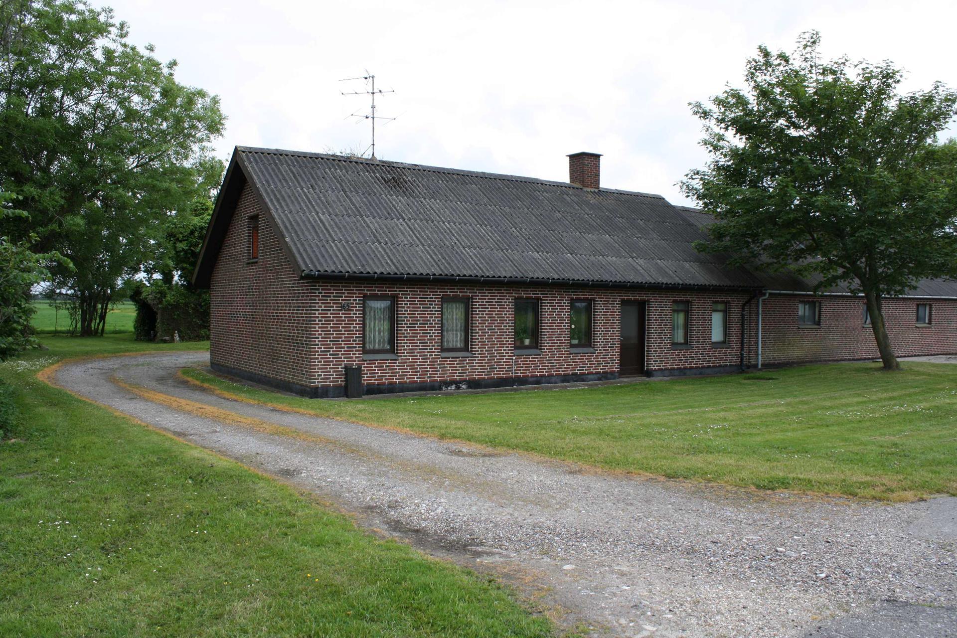 Landejendom på Thorupholmevej i Fjerritslev - Ejendommen