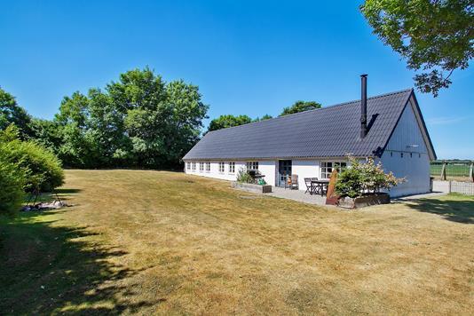 Villa på Bejstrupvej i Fjerritslev - Set fra haven
