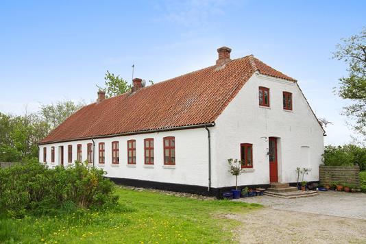 Villa på Thorupholmevej i Fjerritslev - Facade