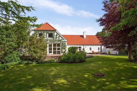 Villa på Bygholmvejlevej i Fjerritslev - Set fra haven