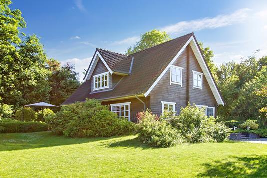 Villa på Bakkevej i Fjerritslev - Set fra haven