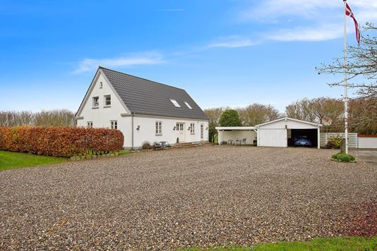 Villa på Lejrmarksvej i Fjerritslev - Ejendommen