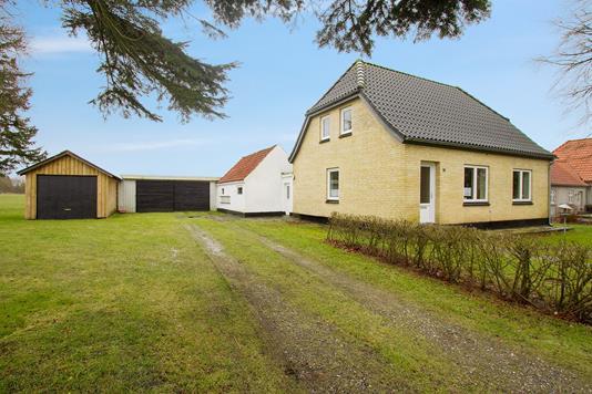 Villa på Oddevej i Fjerritslev - Set fra haven