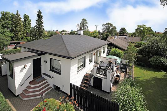 Villa på Gladsaxe Møllevej i Søborg - Ejendommen