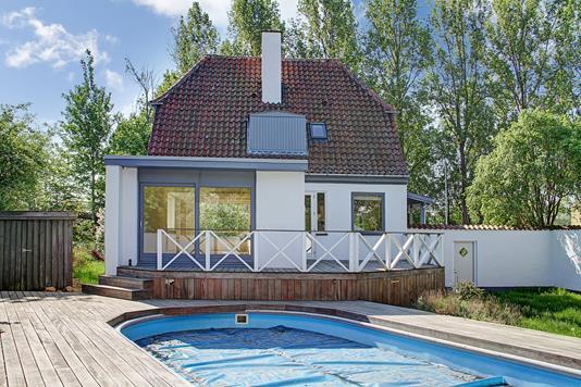 Villa på Skovdiget i Bagsværd - Ejendommen