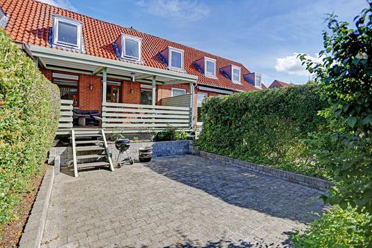 Rækkehus på Bykrogen i Søborg - Terrasse