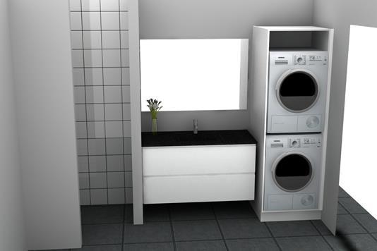 Ejerlejlighed på Esberns Alle i Søborg - Badeværelse