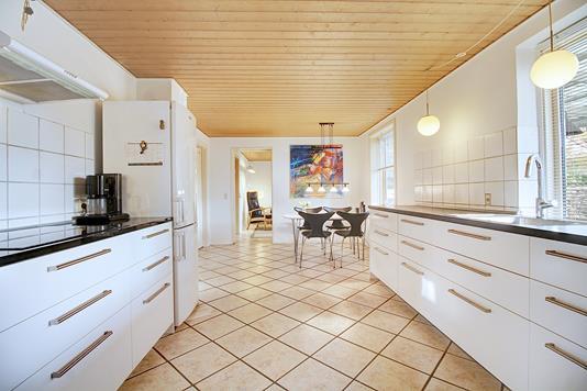 Villa på Lillegårds Alle i Søborg - Køkken