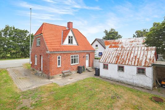 Villa på Halsvej i Vodskov - Ejendommen