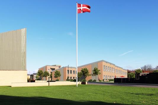 Rækkehus på Digtervejen i Aalborg SV - Modelfoto