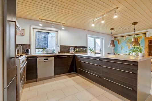 Villa på Kongensgade i Kongerslev - Køkken