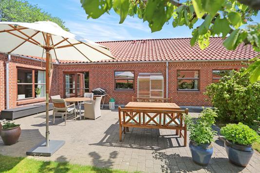 Villa på Ribevej i Aalborg Øst - Terrasse
