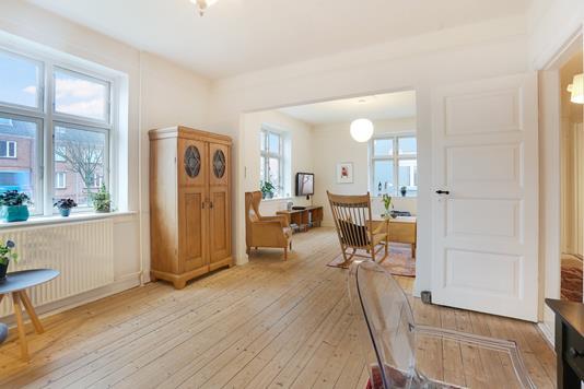 Villa på Østre Alle i Aalborg - Stue