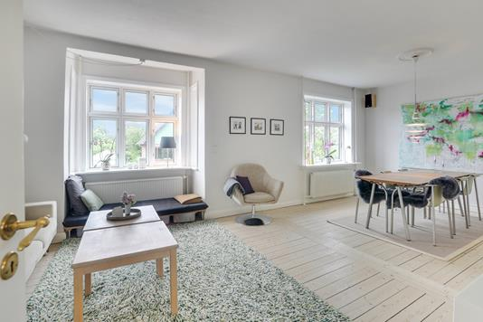 Villa på Bernstorffsgade i Aalborg - Stue