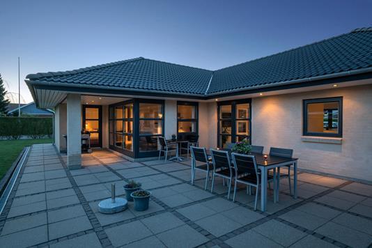 Villa på Ildvænget i Hedehusene - Terrasse