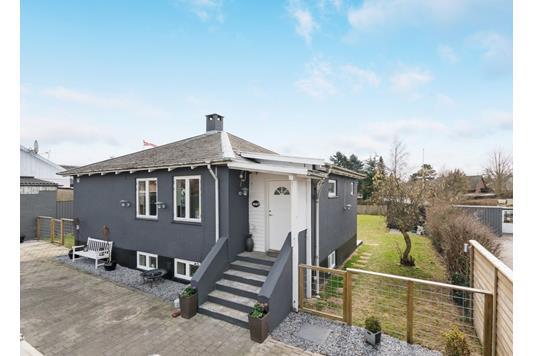 Villa på Nordvang i Hedehusene - Facade