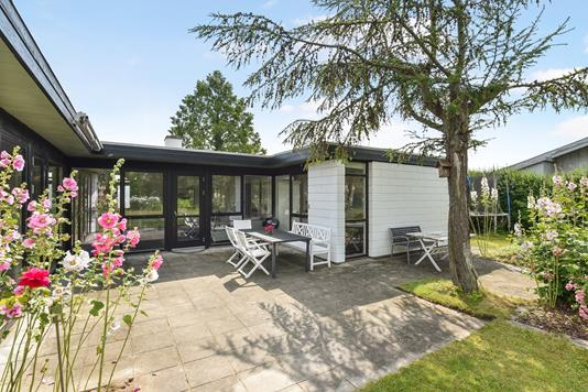 Villa på Hegnstoften i Taastrup - Terrasse