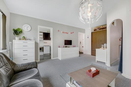 Ejerlejlighed på Lindevangshusene i Taastrup - Stue