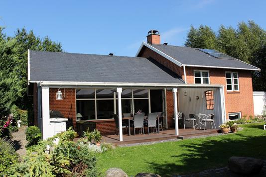 Villa på Baldersbrøndegade i Hedehusene - Facade havesiden