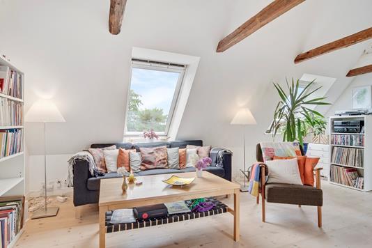 Villa på Bygaden i Taastrup - Stue