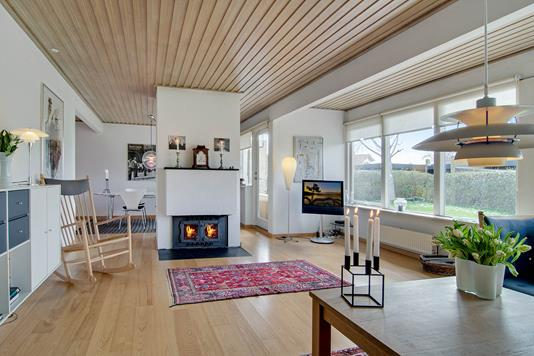 Villa på Valby Søndergade i Taastrup - Stue