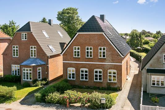 Villa på Carstensgade i Tønder - Ejendommen
