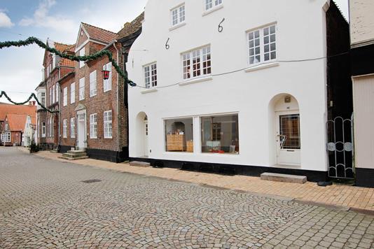 Villa på Østergade i Tønder - Ejendommen