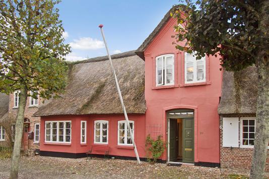 Villa på Slotsgaden i Tønder - Ejendommen
